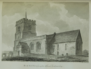 Layston Church from the South East