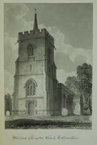 Layston Church from the West